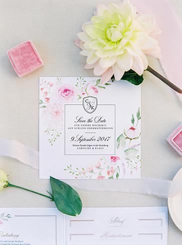 Wedding Pocketfolder Hochzeitspapeterie Einladung Hochzeit papeterie Drucksorten aquarelle Goldprägung save-the-date