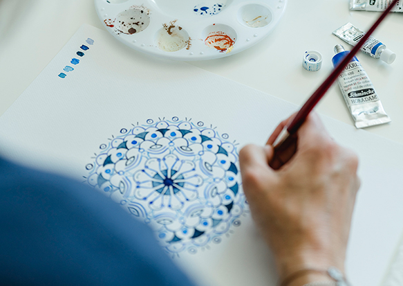 Workshop Mandalas HERZanHERZ